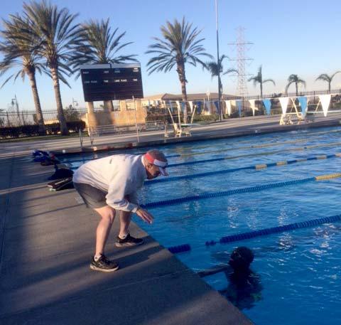 Max Performance Bike Fit - Coaching swimmer