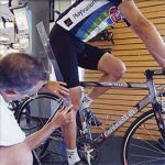 Max Performance Bike Fit - knee measurement image